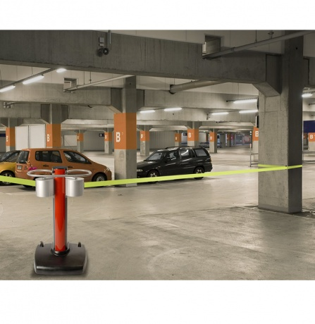 Beltrac Jettrac Airport Retractable Barrier With 2 X 22m